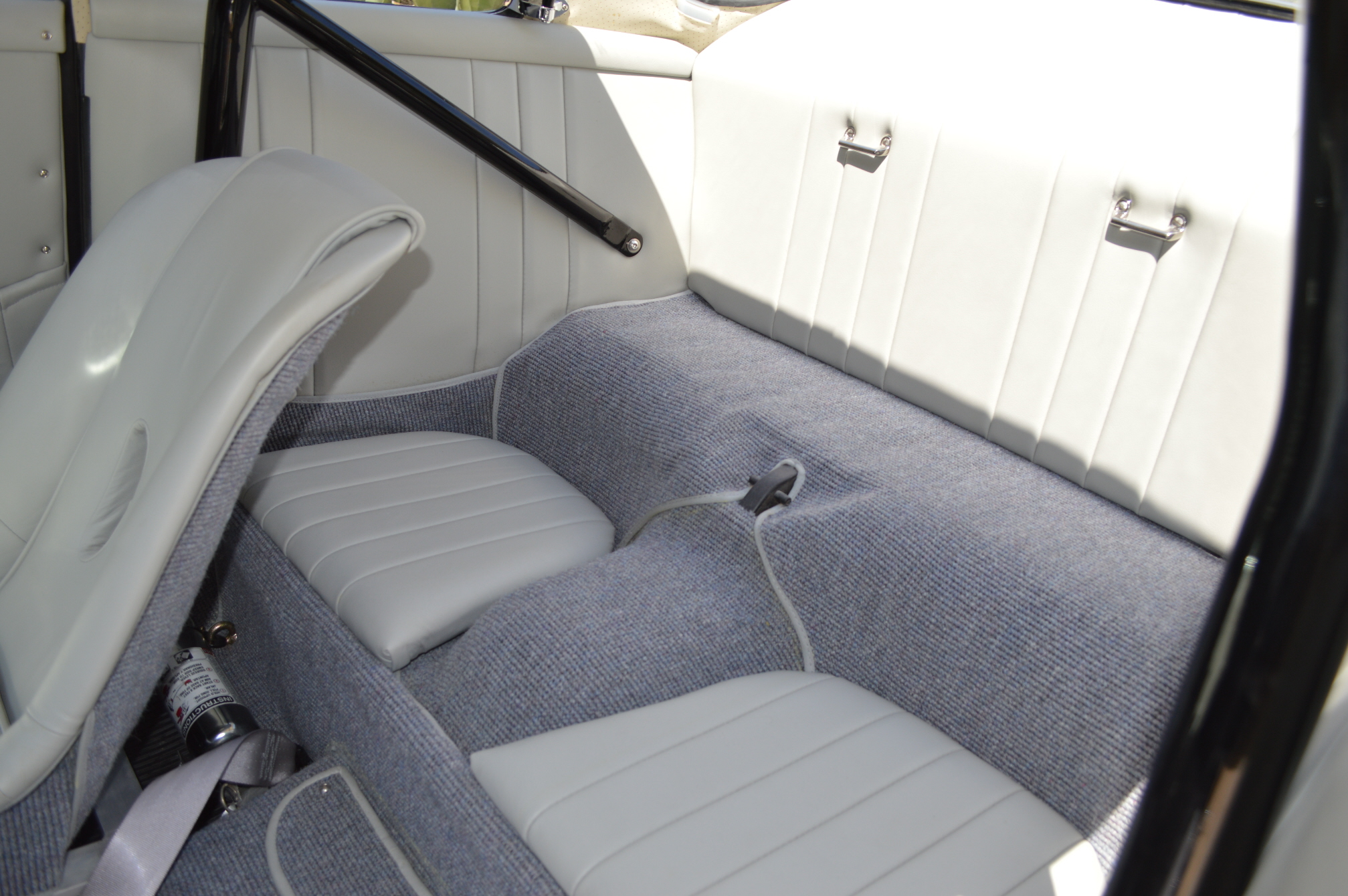 Rear seat backs have been removed as have some other parts but most are included with the sale of the car as spares.