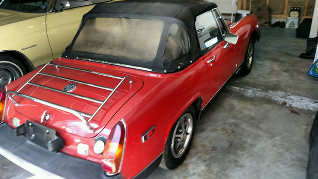 1978 MG Midget 28,000 miles, always garaged, same owner for the last 25 years.