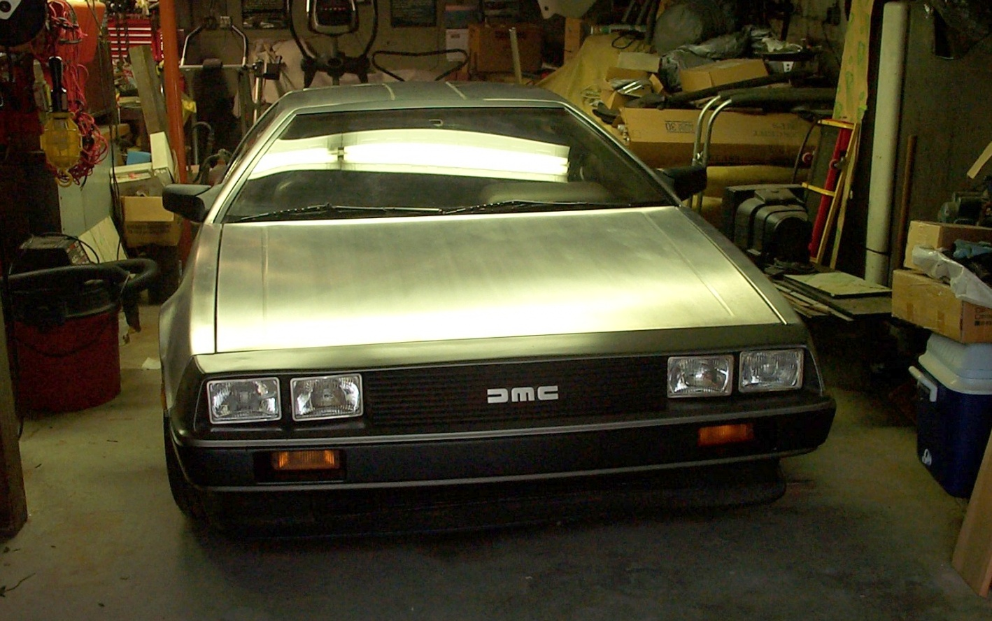 This 1981 DeLorean barn find has 5000miles on the clock and is in original condition.