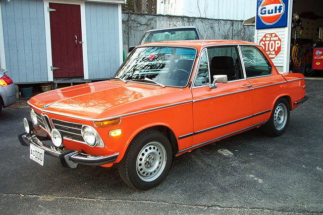 "1973 BMW 2002, California car,  79K miles, new Weber carb, header & exhaust.  Otherwise a very original car, Rare  14"" BMW 3 Series steel wheels recently powder coated.  No rust, rot or body damage."