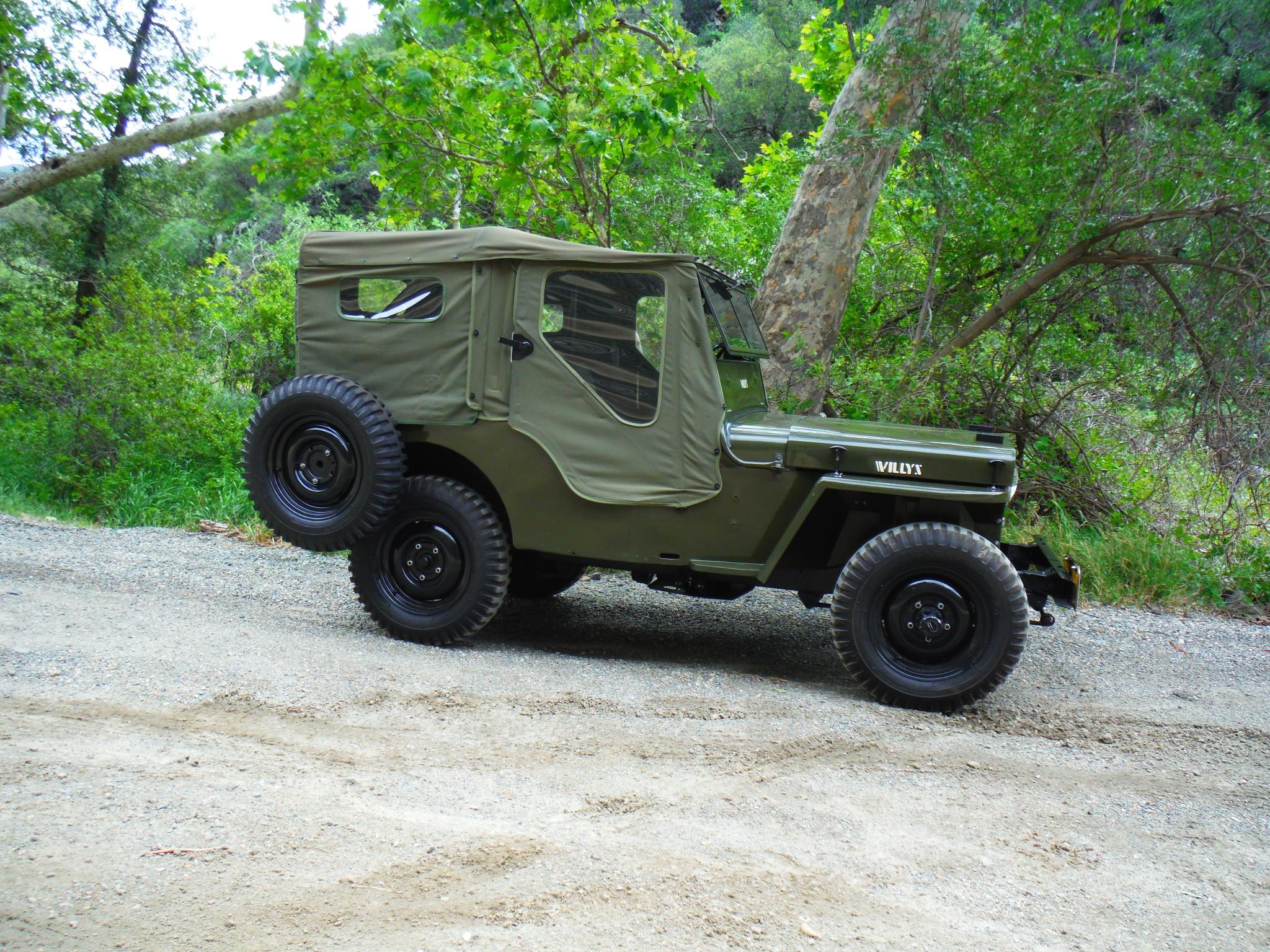 willys jeep cj2a revivaler. Black Bedroom Furniture Sets. Home Design Ideas