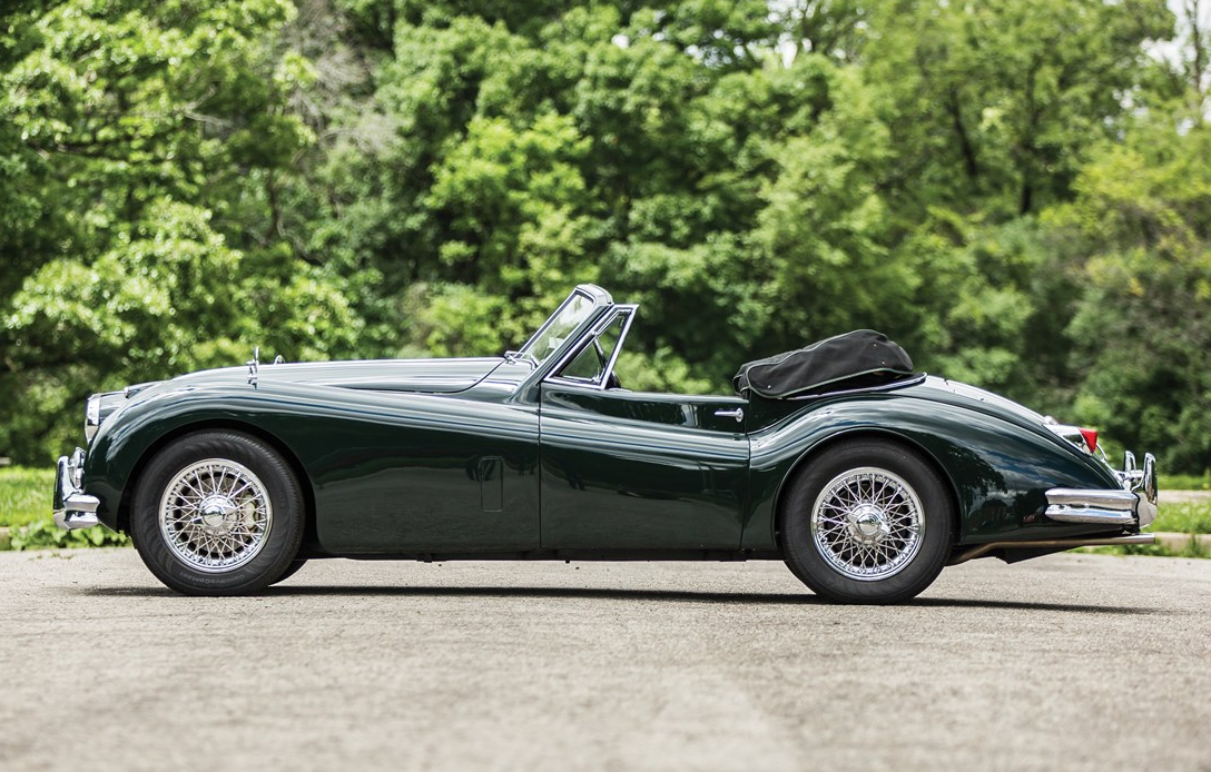 The XK140 MC Drophead  Coupé is arguably the most desirable variant of the XK120 and XK140 variants.