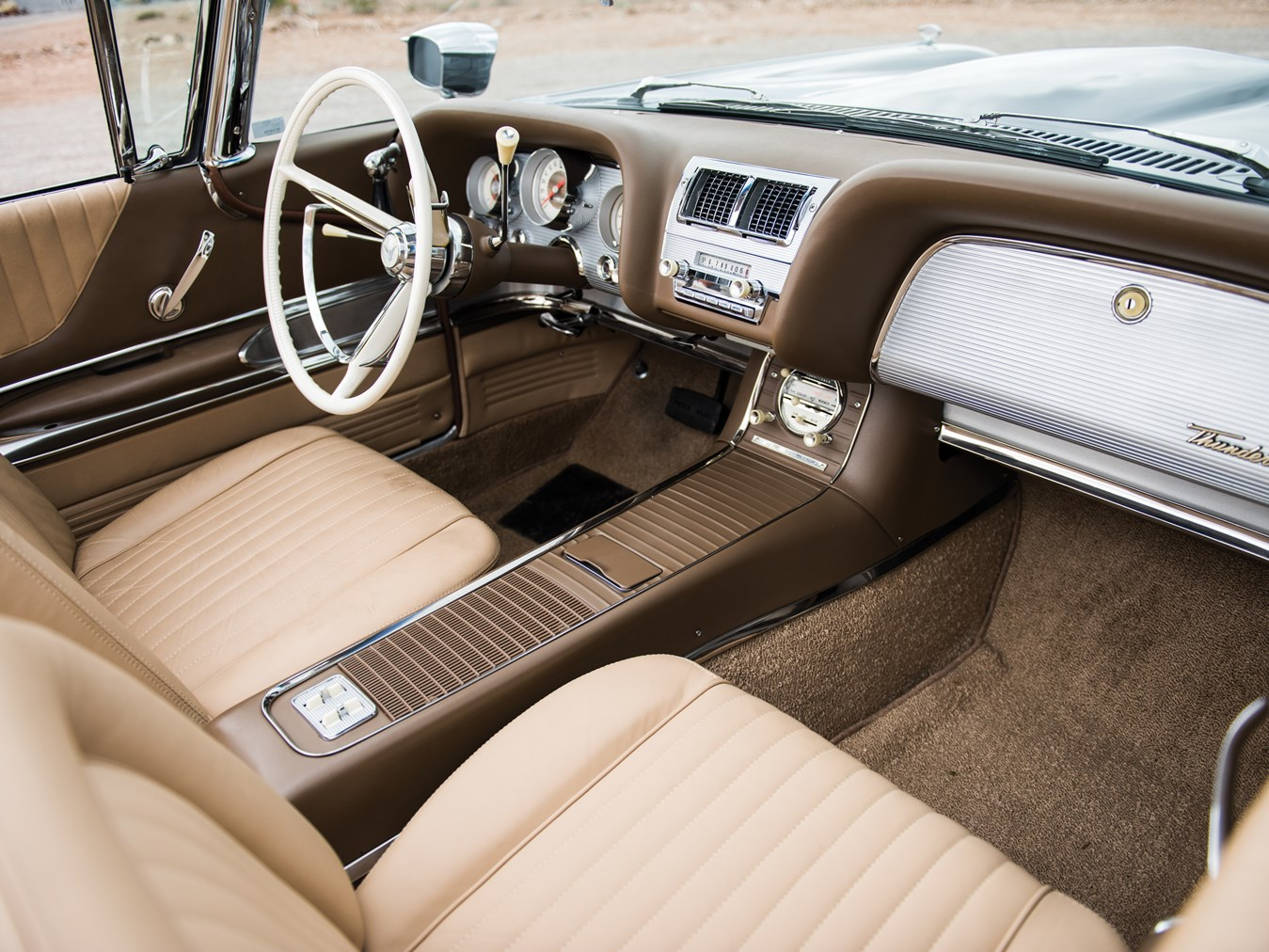 "The Ford Thunderbird created a new genre of American cars, the ""personal luxury car""."