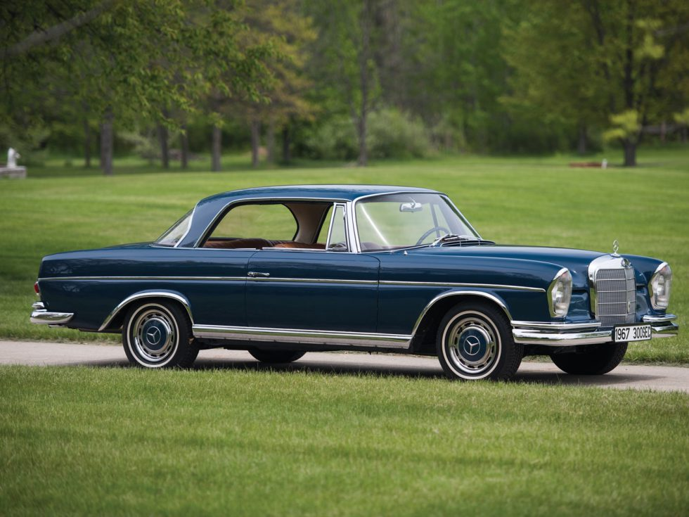 1965 Mercedes Benz 300 Se Coupe on benz w111