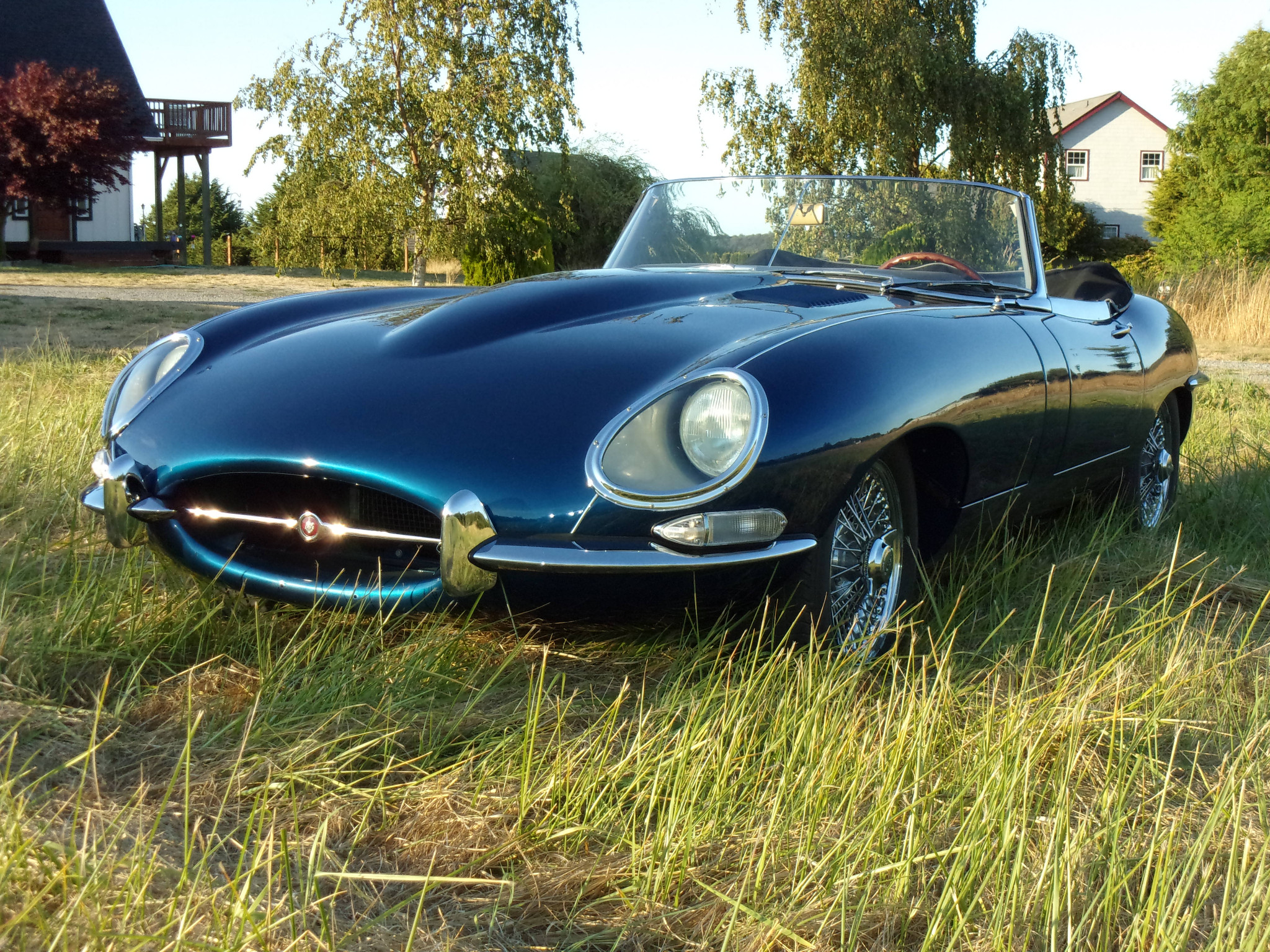 "Is it any wonder Enzo Ferrari called the Jaguar XKE ""The most beautiful car ever made""."