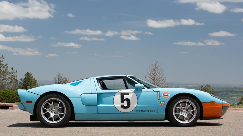 "The original Ford GT40 got its name because it was a GT car that was 40"" high."