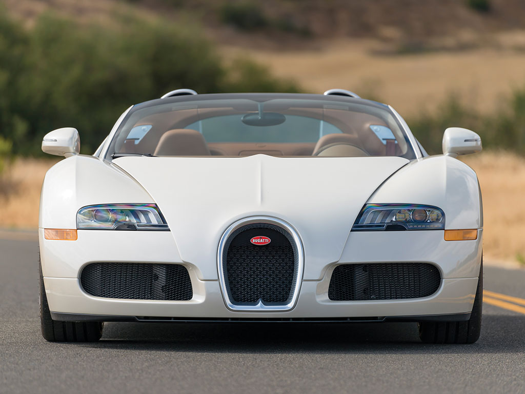 This Veyron 16.4 Gran Sport is without doubt one of the most beautiful cars ever created. (Picture courtesy RM Sotheby's).