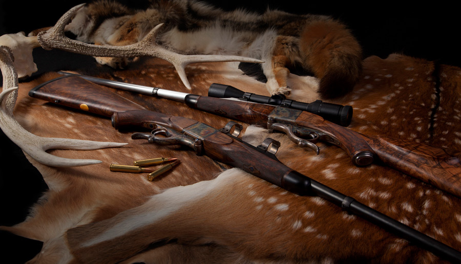 Farquharson rifles from Soroka Rifle Company. (Picture courtesy Soroka Rifle Company).