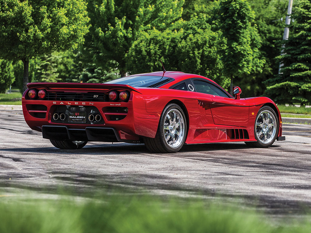 Our feature car was the last Saleen S7 produced, being made in 2006.