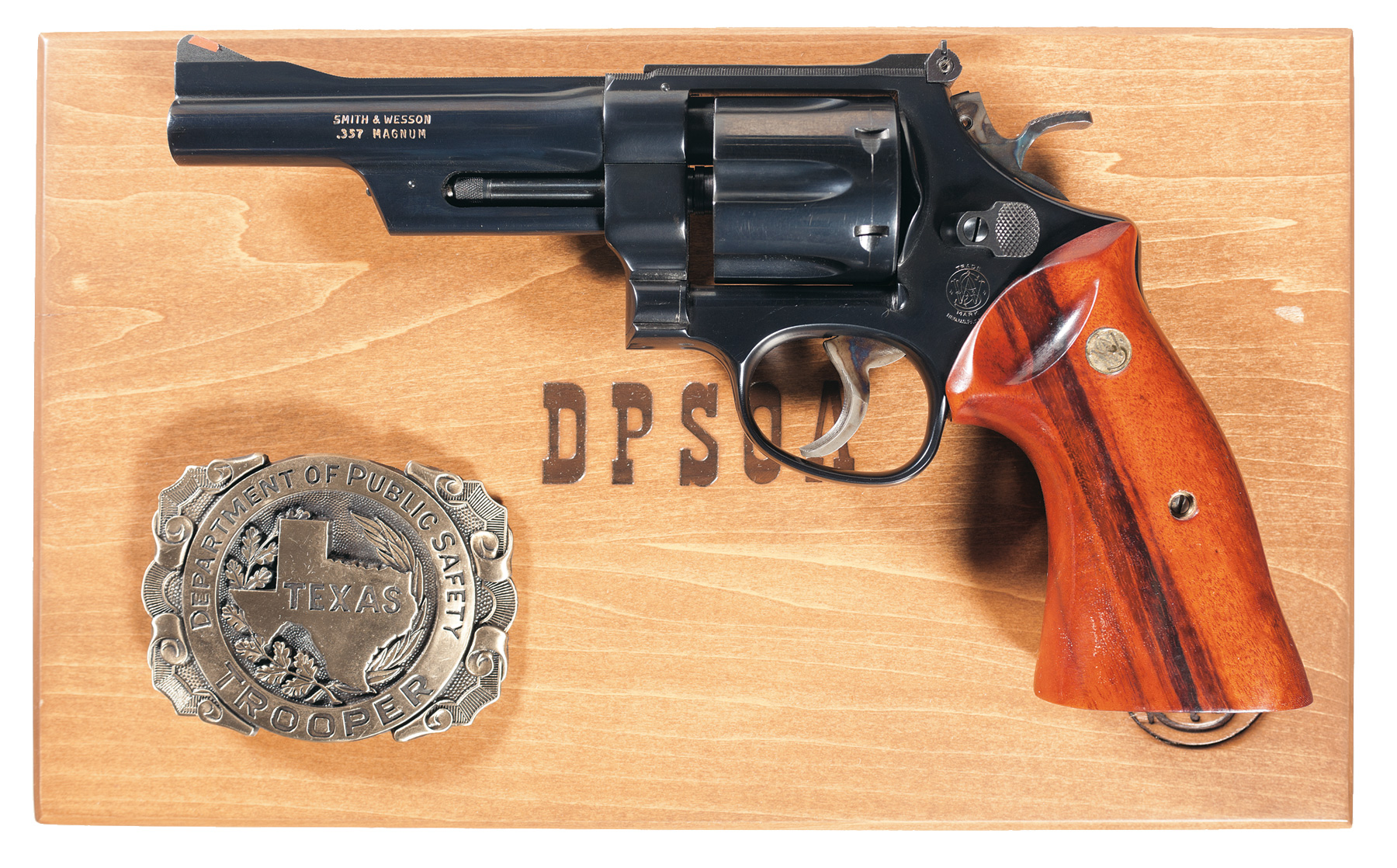 In 1935 the .357 Magnum was the most powerful revolver cartridge in the world. (Picture courtesy Rock Island Auction).