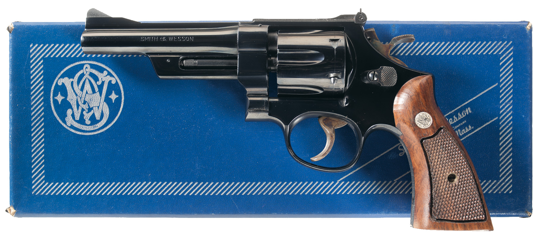 The Smith & Wesson Model 27. The best all around revolver. (Picture courtesy Rock Island Auction).
