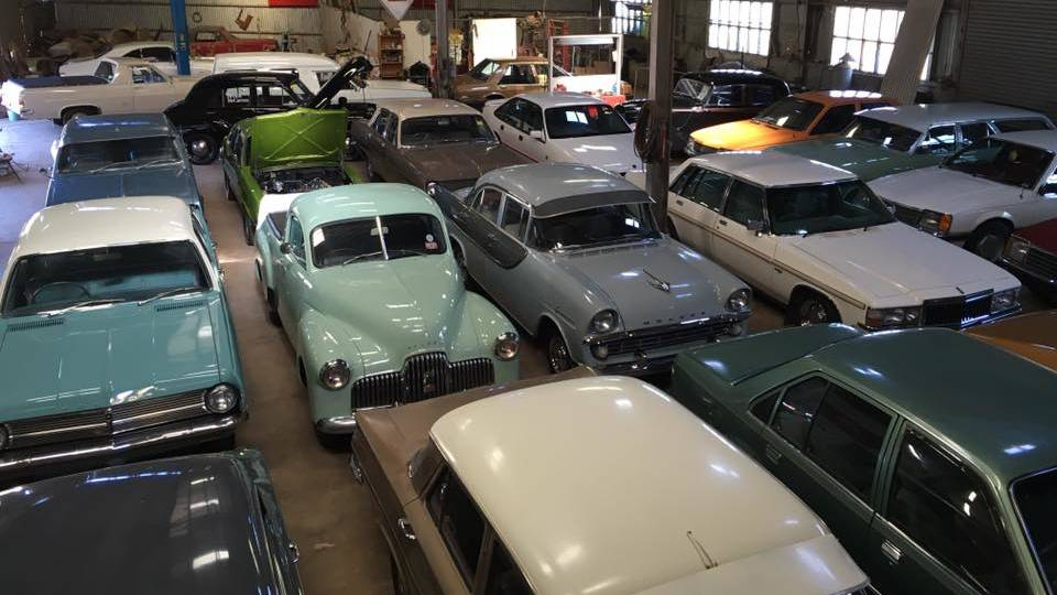A view of the Charlie McCarron collection of Holden cars housed in Canowindra, NSW. (Picture courtesy centralwesterndaily.com.au).