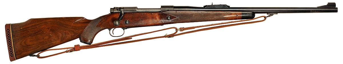 "The Post 64 Model 70 Winchester used by Inspector Harry Callahan in the movie ""Dirty Harry"". (Picture courtesy imfdb.org)."