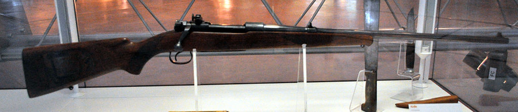 Winchester Model 54 owned and carried by Charles Lindbergh. (Picture courtesy Wikipedia).
