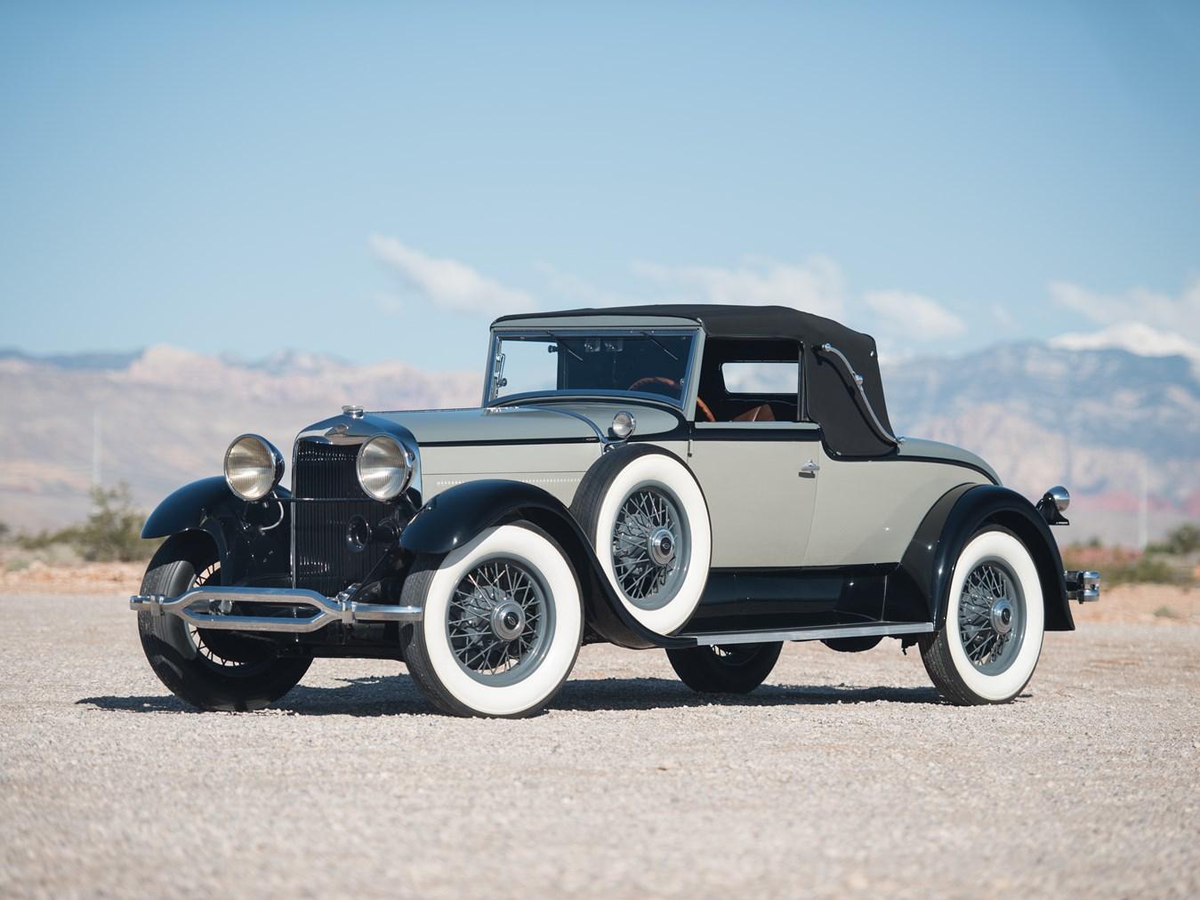 1930 Lincoln Model L Convertible Roadster Revivaler
