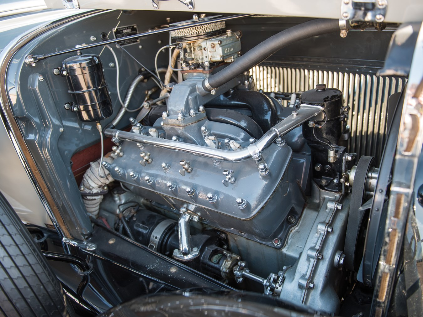 Prior to the creation of the Ford V-8 those wanting a V8 engine needed to purchase a more expensive car such as the Lincoln Model L.