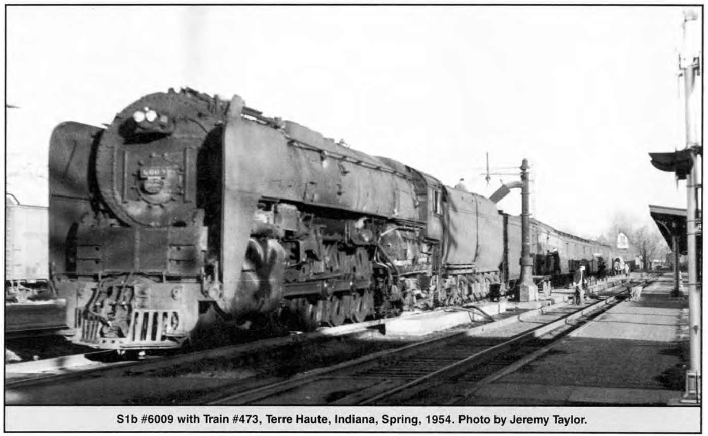 "A grubby looking #6009 in 1954, no longer hauling the prestigious name trains. (Picture courtesy ""The Making of a Legend - The Niagara Story"" by Thomas R. Gerbracht)."