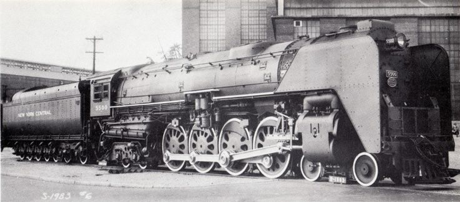 Alco only had the opportunity to build one Class S2a Caprotti poppet valve equipped Niagara for the New York Central Railroad. It proved to be too successful when compared to the diesel locomotives the NYC wanted to move over to.
