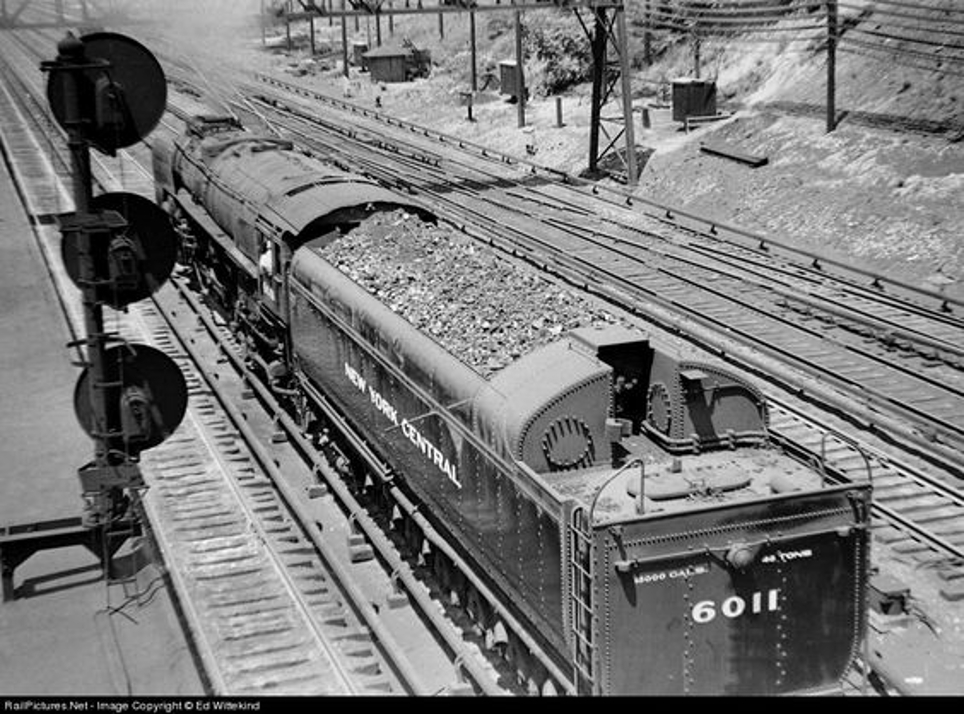 One of the advantages of steam locomotives is that they can run on cheap coal. This worked to the Niagara's favor.