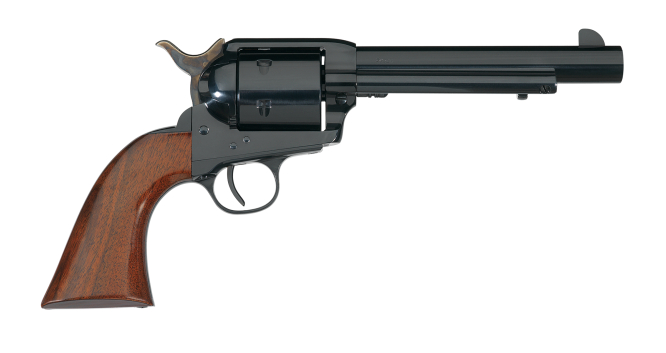 The Callahan is made for the .44 Remington Magnum and .44 Special. (Picture courtesy Uberti).