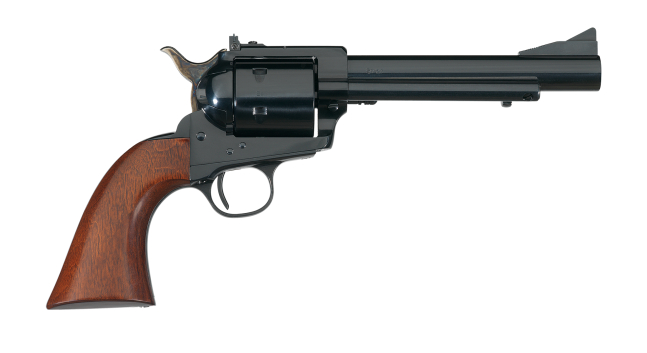 The Callahan target has adjustable target sights. (Picture courtesy Uberti).