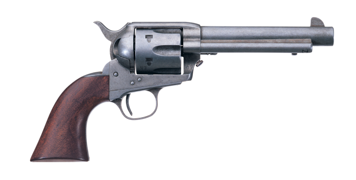 The Old West is given a pseudo worn appearance. (Picture courtesy Uberti).