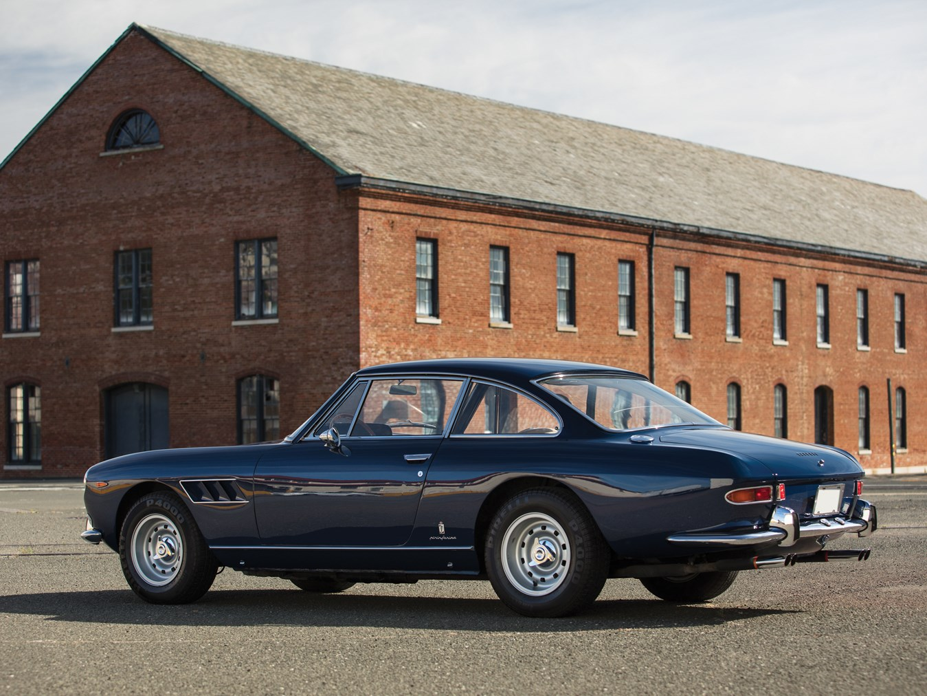 The Pininfarina styling gives this car a sporting gracefulness that is typically sixties Ferrari.