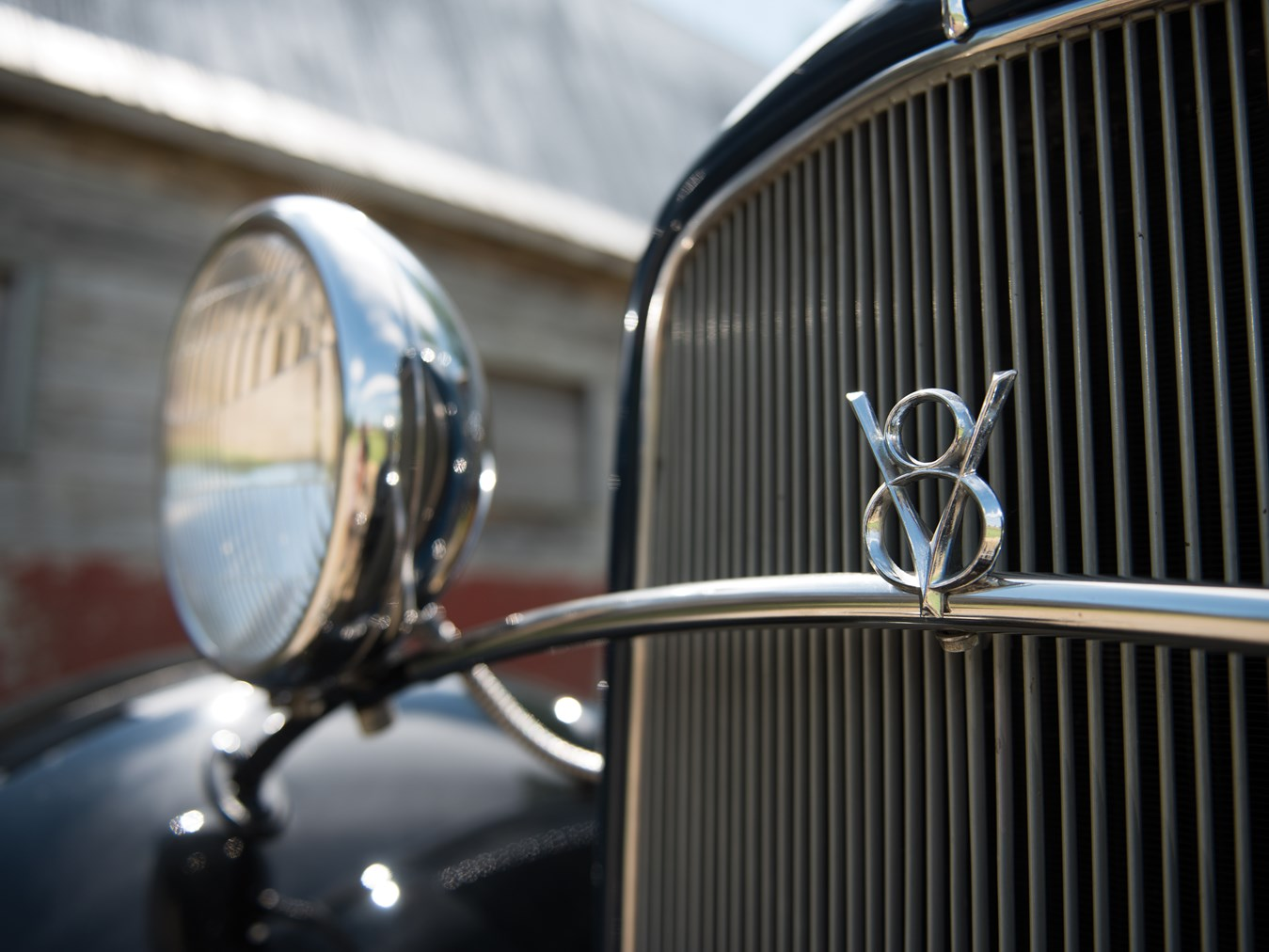 Henry Ford's original idea was not for a V8, but for a radial X8. (Picture courtesy RM Sotheby's).
