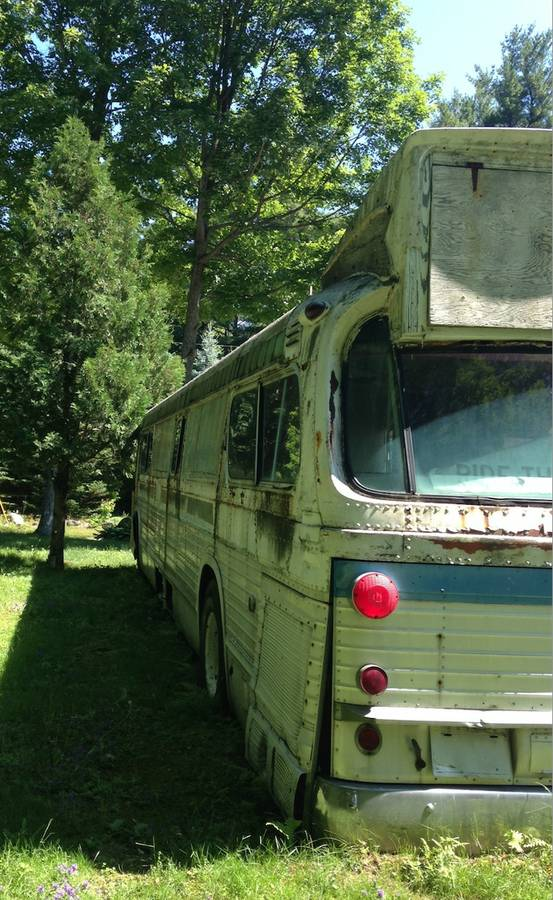 Free Barn Find Customized 1977 GMC 40' City Bus-5