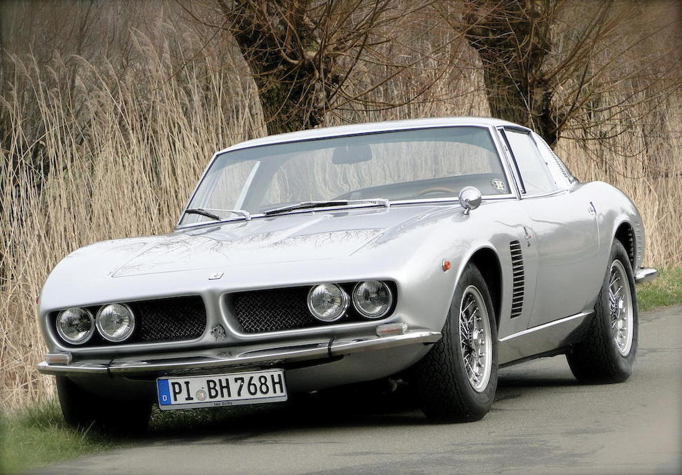 The Iso Grifo GL blends a design originally intended for racing into a refined luxury Grand Touring car that is second to none. (Picture courtesy Bonhams).