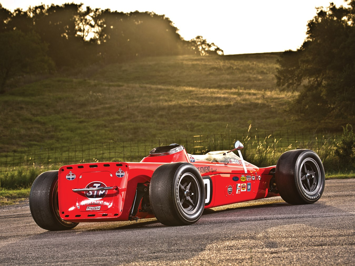 The Lotus 56 was a very minimalist design.