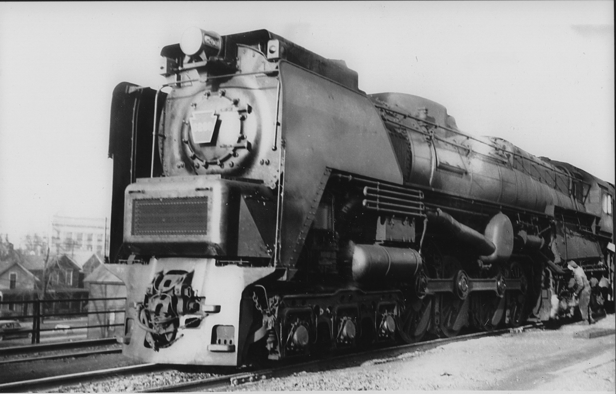 The Pennsylvania Railroad's S2 locomotive used a steam turbine instead of the conventional reciprocating engine.