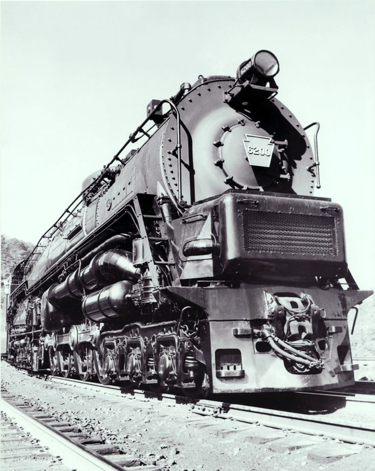 This is the S2 as first delivered. It was one of the most impressive looking locomotives ever to leave the Baldwin works.