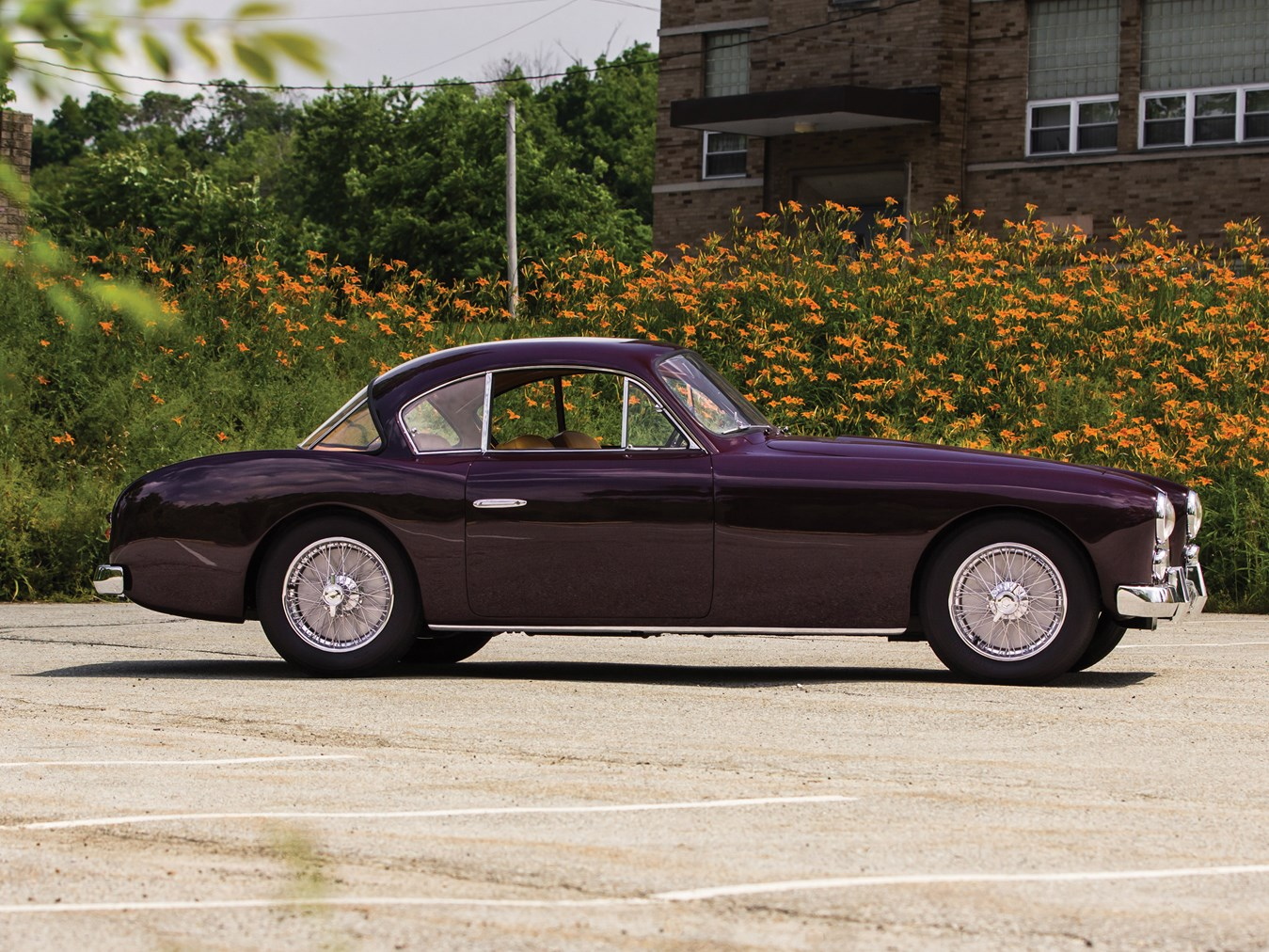 This 1954 Talbot-Lago T26 GSL exhibits the classic lines of the post war Talbot-Lago.