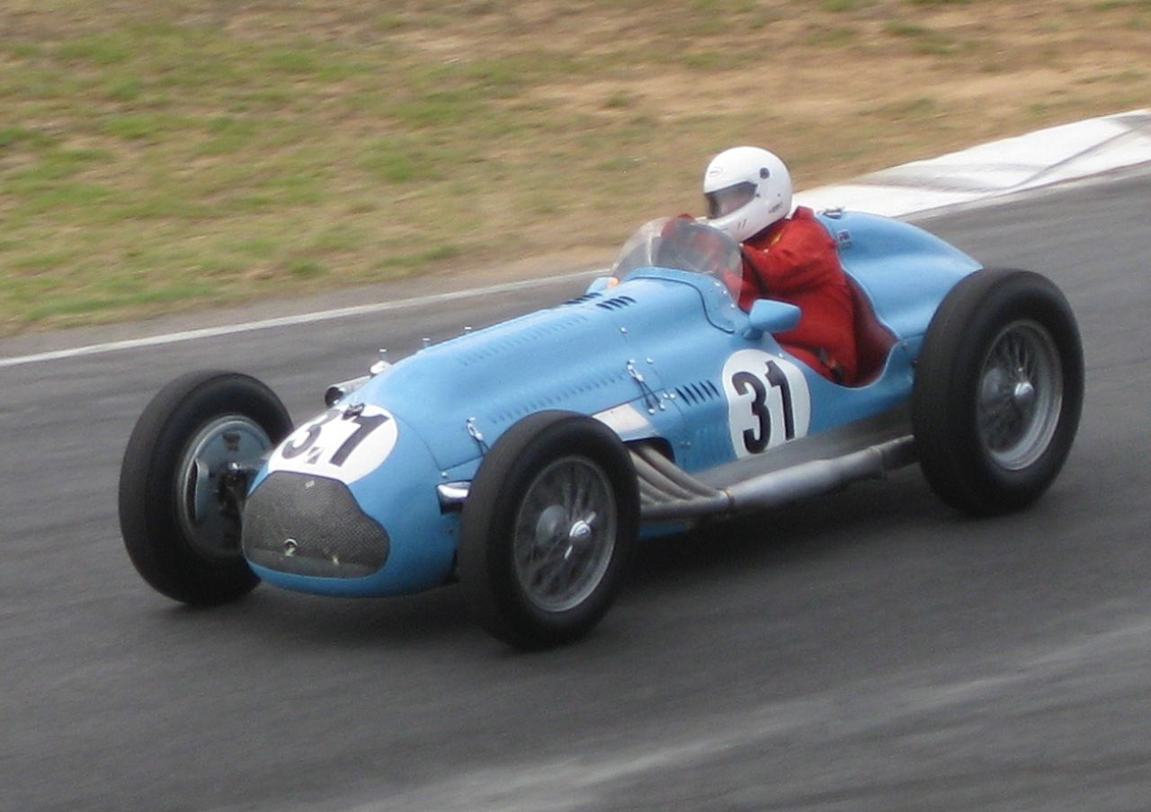 The Talbot-Lago T26C Grand Prix car. (Picture courtesy Wikipedia).