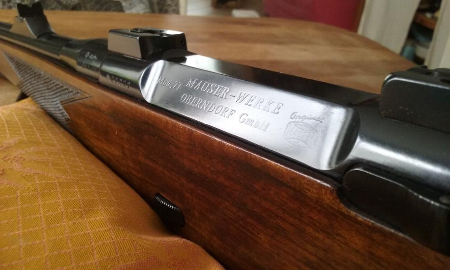The Mauser 77 was the successor to the Mauser 66 designed by German gunsmith Walter Gehman. (Picture courtesy naturabuy.fr).