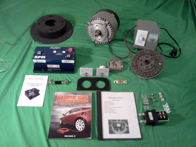 A Wilderness Electric conversion kit. (Picture courtesy Wilderness Electric Vehicles e-volks.com).
