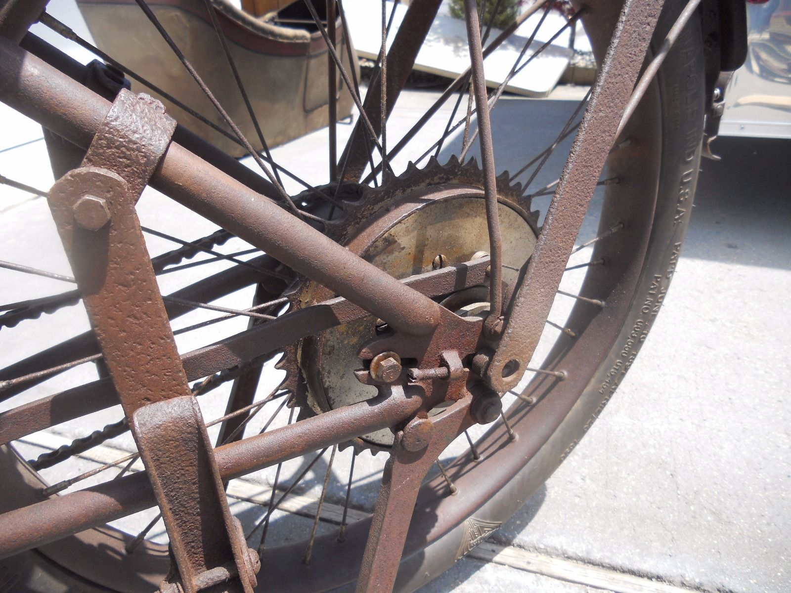The engineering of early Harley-Davidson motorcycles clearly shows their bicycle origins.
