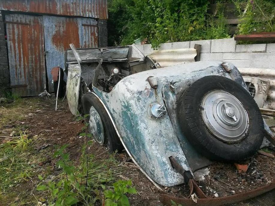 1935 Brough Superior 4.2-Litre Drophead Coupé Yard Find-5