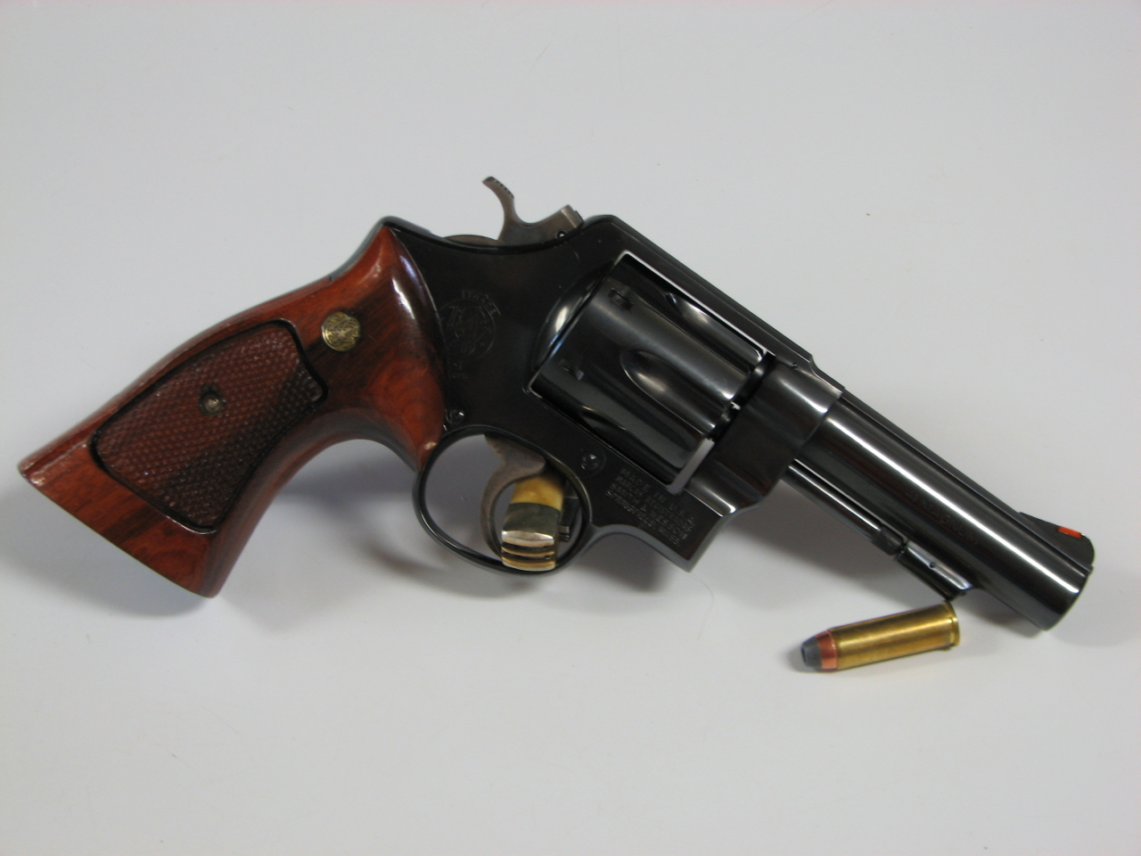 The Smith & Wesson Model 58 was the Military and Police model in .41 Remington Magnum. (Picture courtesy Smith and Wesson Forums).