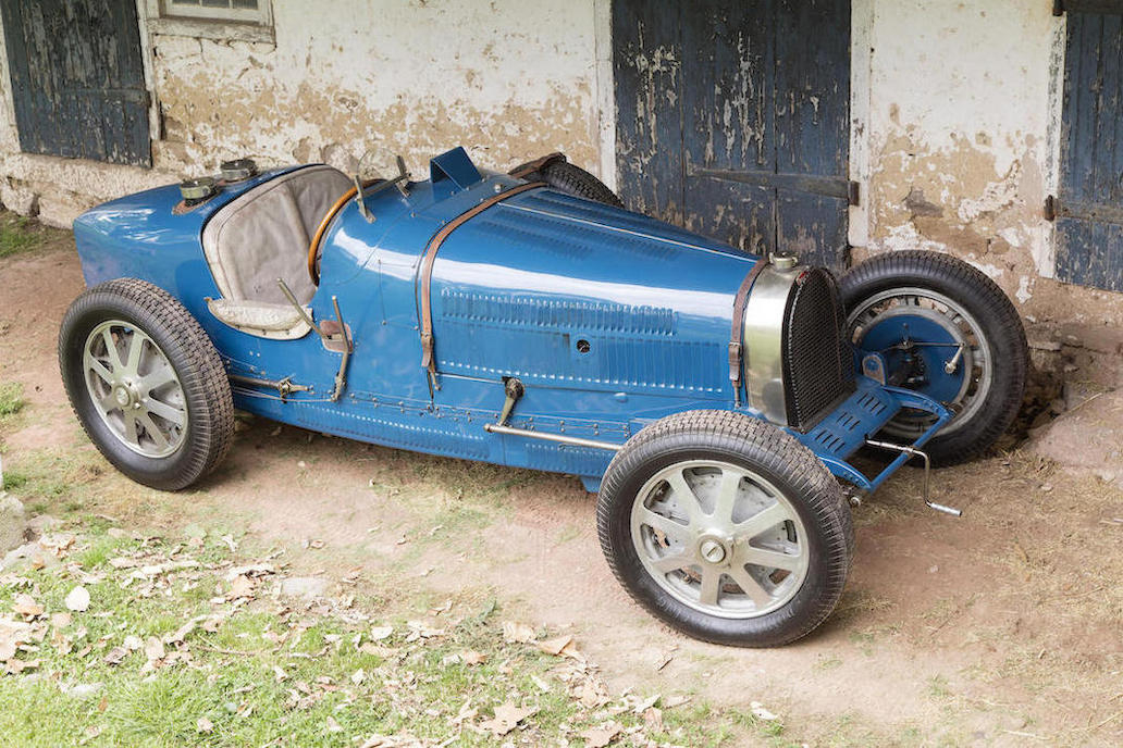 This Type 51 Bugatti has a lot of history and a lot of character.