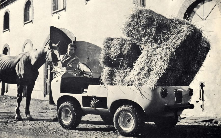 The Ferves Ranger was created to be a small 4WD workhorse. (Picture courtesy fiat500.ch).
