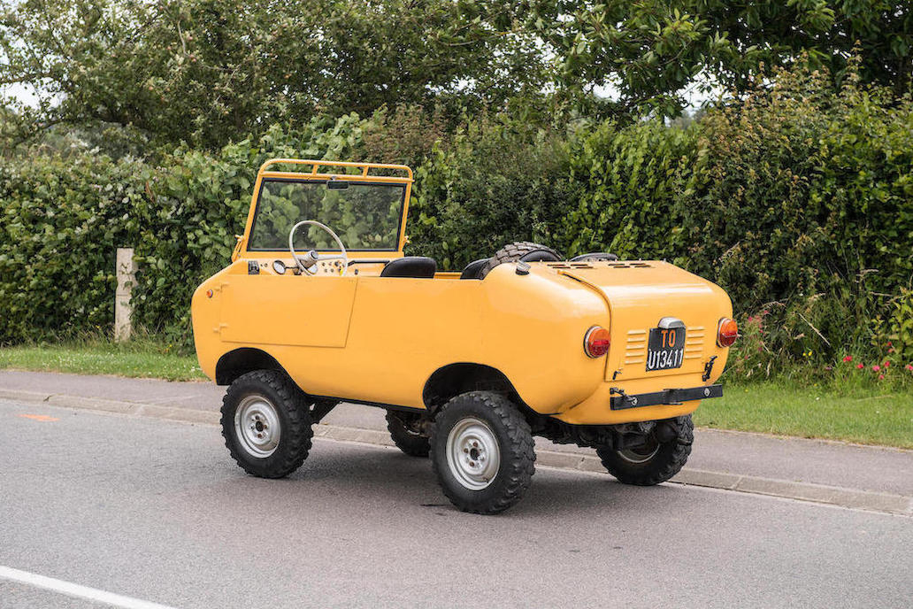 The Ferves Ranger has such an interesting personality that its hard to take one's eyes off it.