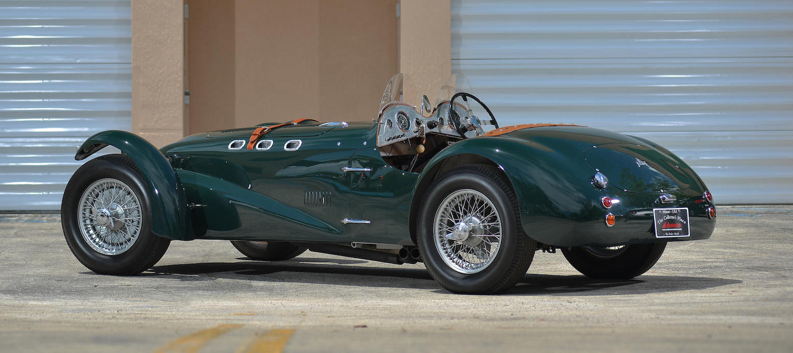 The J2 Allard looks like a race winner just standing still. In 1950 Sydney Allard himself drove one into outright third place at the 24 Hours Le Mans.
