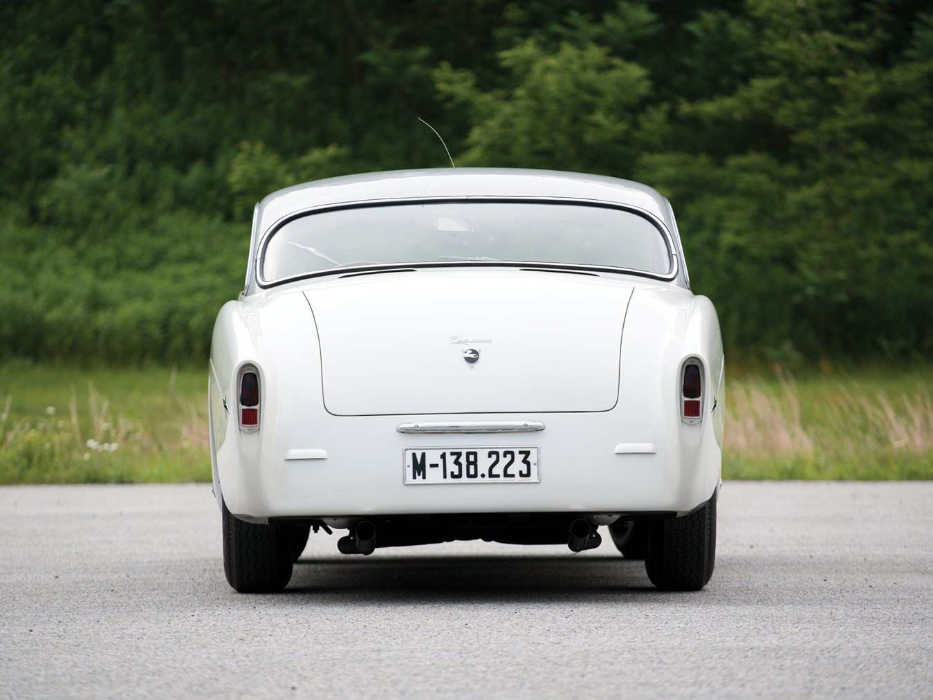 The Pegaso is a car capable of showing a clean set of heels even today.