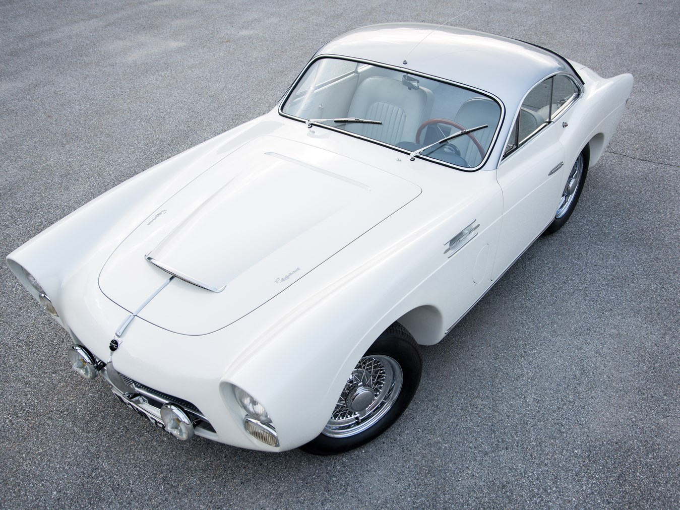 The Pegaso is every bit a premium fifties sports car.