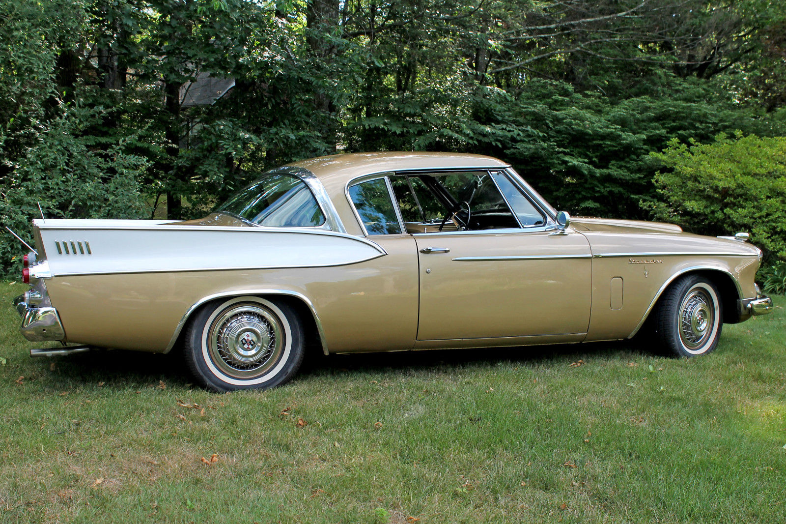Studebaker's Golden Hawk stands out as one of the best looking American cars of the fifties.