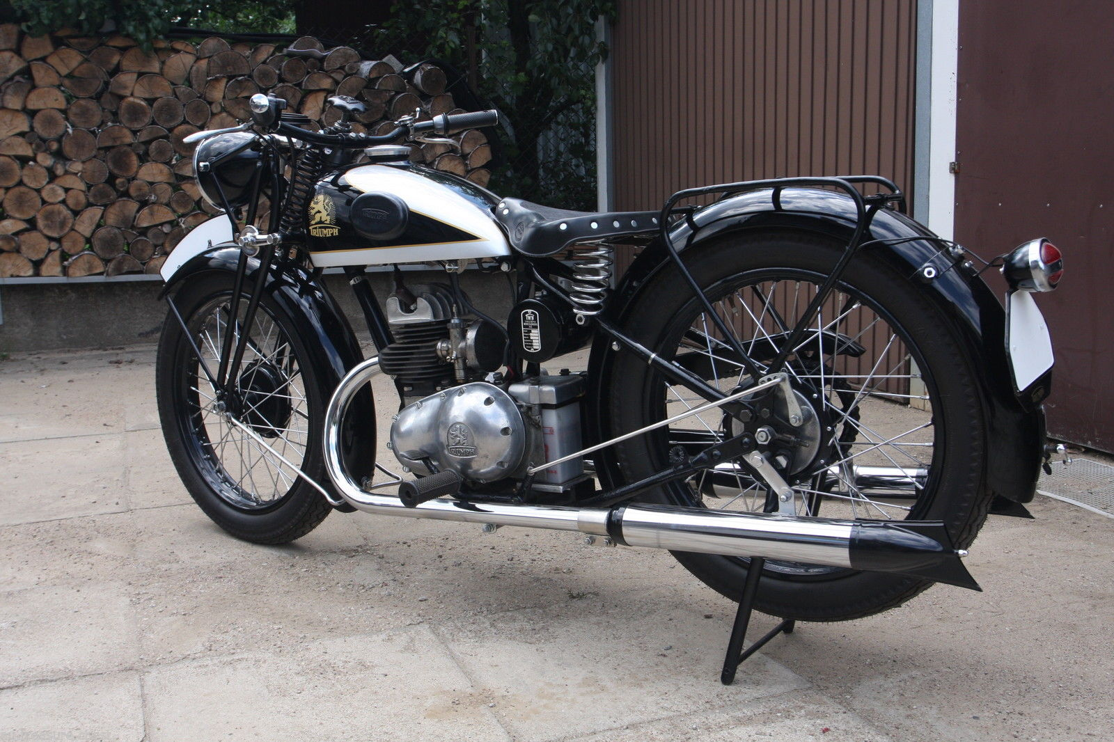 The German TWN motorcycles are distinctive and well made.