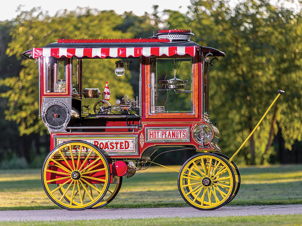 The Cretors Wagon has a great deal of character and old world charm.