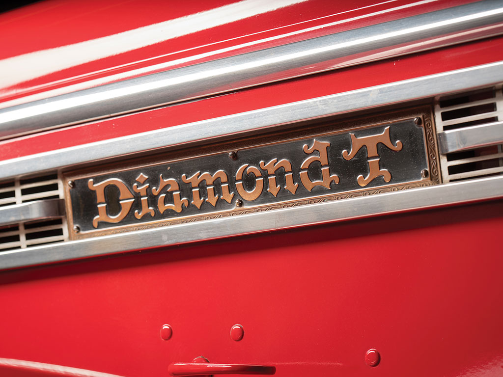 The Diamond T name earned great respect for itself amongst truck drivers and operators.